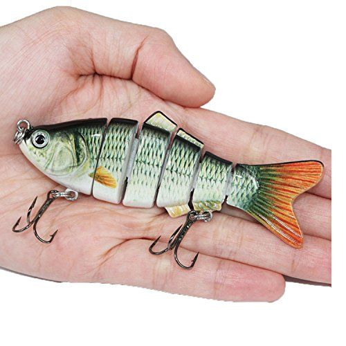 Fishing Wobblers Lifelike Fishing Lure 6 Isca Artificial Lures Fishing Tackle Outdoor Store [gallery]  Weight:18g  Duration:10cm,6 Segment  Fishhook:6#  Use Scope:fishing catfish,weever,trout,snakehead,mandarin fish and so on.  1). It's on promotion,we permit 1 buyer buy 2 items at such a lot.Thank you.  2). Top Solution Body Detail  3). Holographic or Highly Detailed Paint Finishes  4). Balance Rattle System  five). Premium…