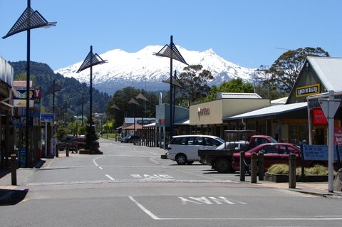 Ohakune town, a great place to eat and drink to prepare for days filled with adventure!