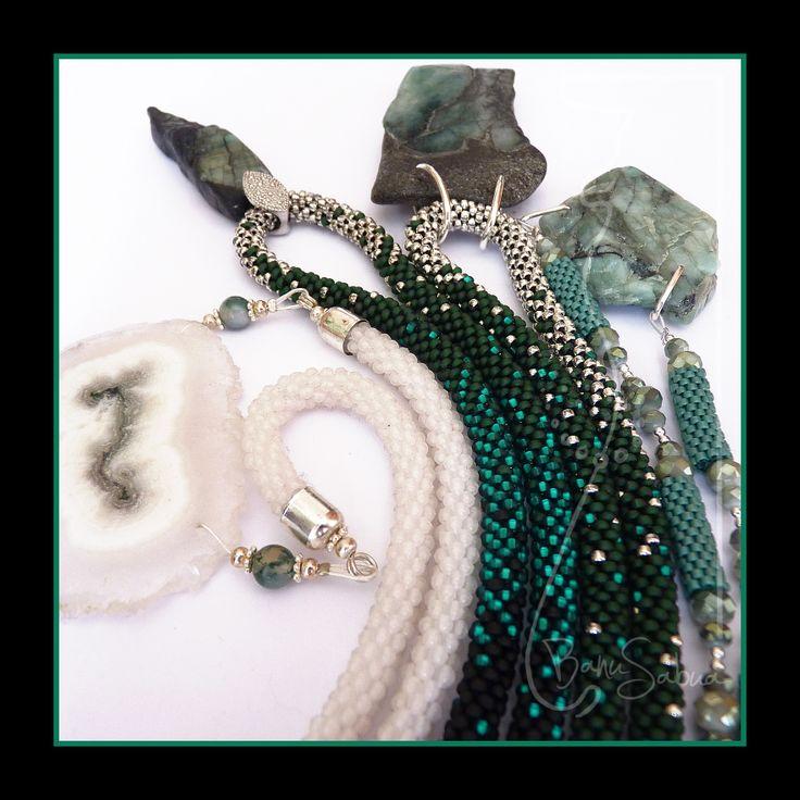 ...moje oblíbené - smaragdy, křišťál...