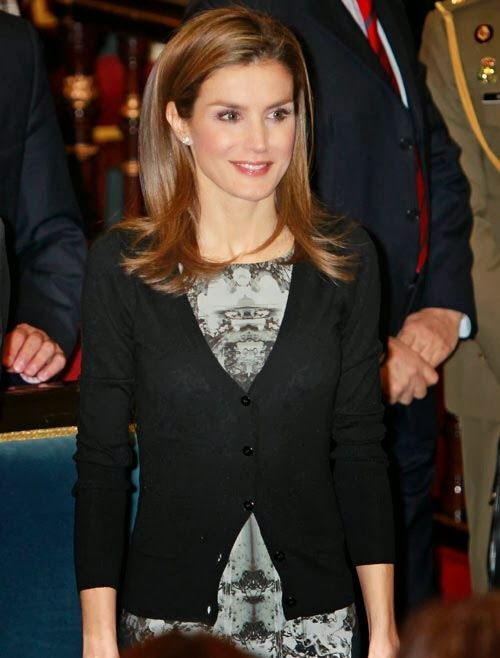 MYROYALS &HOLLYWOOD FASHİON:  Crown Princess Letizia attended the Rare Diseases World Day Event, February 28, 2014