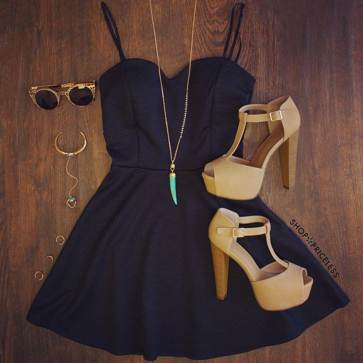 Amèlie Dress - Black #Fashion #style #cute #dress #trendy #ootd #Spring #ShopPriceless