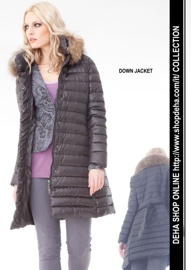 Per il vostro shopping online #DEHA #jacket http://www.shopdeha.com/it/ http://www.shopdeha.com/it/collection/142-piumino.html