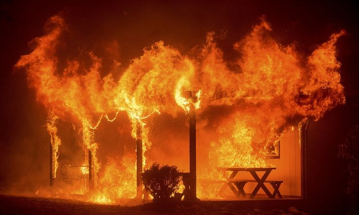 """""""Fire SEASON""""... REALLY? btw, A Fatwa to BURN USA Resources was published in Feb 2015. Hello. / California governor declares state of emergency as thousands prepare to evacuate and firefighters struggle to contain worsening conditions"""