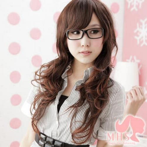 Long Full Wig - Wavy Crushed Gamet - One Size