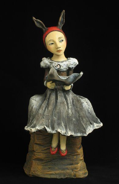 By Jacquline Hurlbert, Clay sculpture