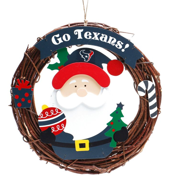 "Houston Texans 13"" Wreath - $15.99"