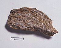 Mica Rock | Schist - Wikipedia, the free encyclopedia