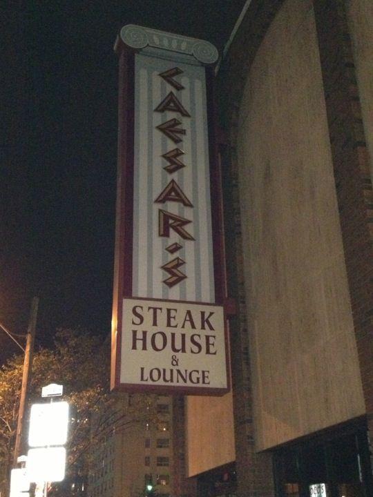 Caesar's Steak House - 10816 Macleod Trail. S.E. Calgary, AB   http://www.caesarssteakhouse.com/location-willowpark.htm