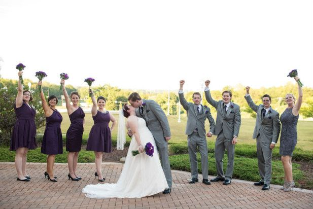 New Orleans Themed Wedding at the Spartanburg Marriott, SC