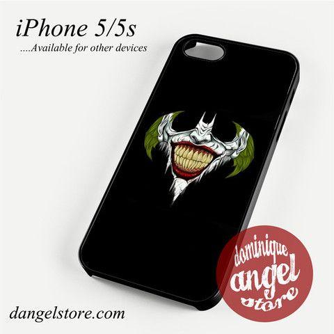Batman & Joker Logo Phone case for iPhone 4/4s/5/5c/5s/6/6 plus