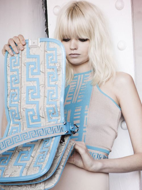abbey lee kershaw for versace