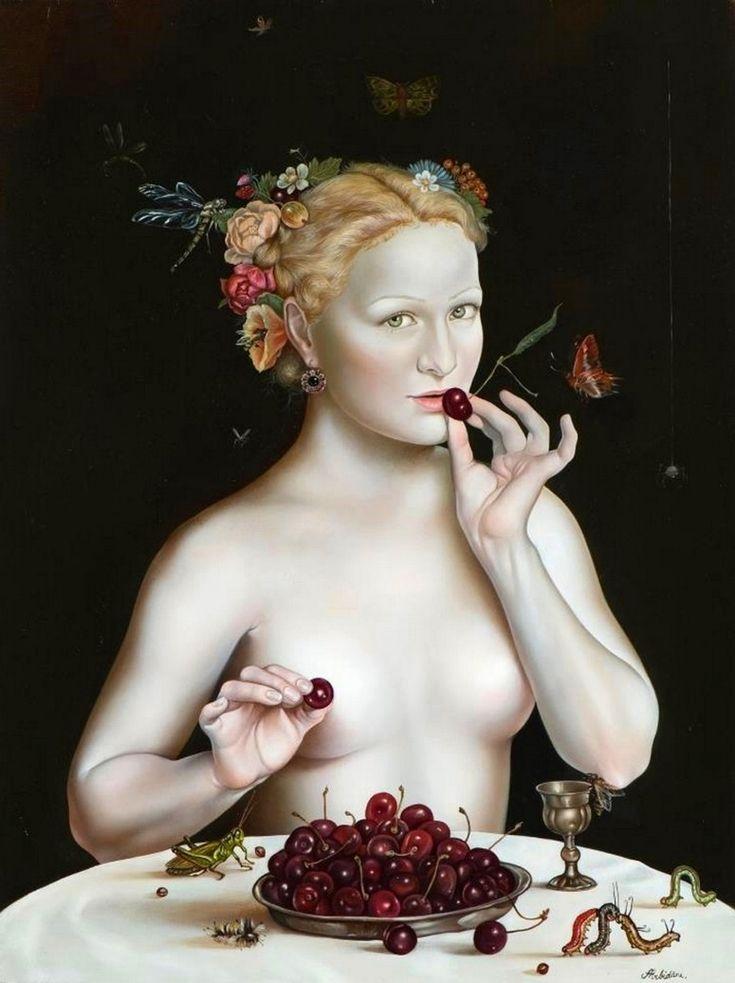 Painting by Anita Arbidane