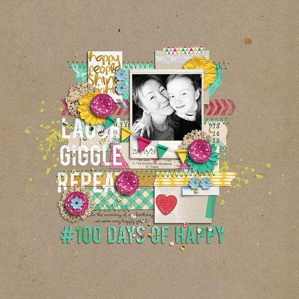 #100 days kit by Tracy Martin Designs Shine Journal Cards by Tracy Martin Designs  100 Days Splatters Newsletter Freebie by Tracy Martin Des...