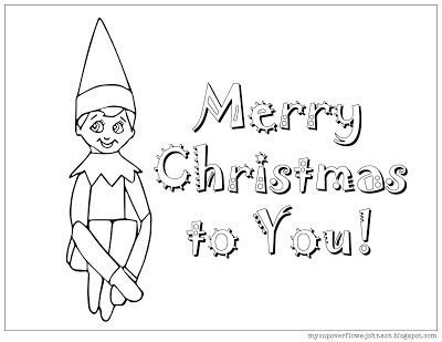 elf on the shelf coloring page  coloring pages love