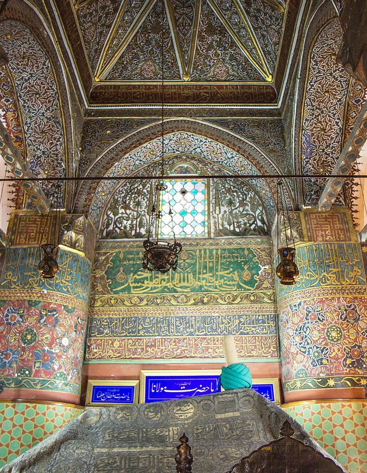 Mousoleum of Rumi | Konya is a city in Central Anatolia in Turkey, known as the city of whirling dervishes and for its outstanding Seljuk architecture. @Wikivoyage