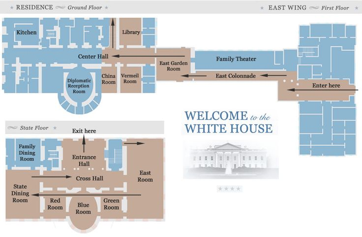 White House Tour Map White House Pinterest House