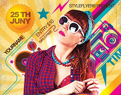 Best Student Images On   Flyer Design Advertising