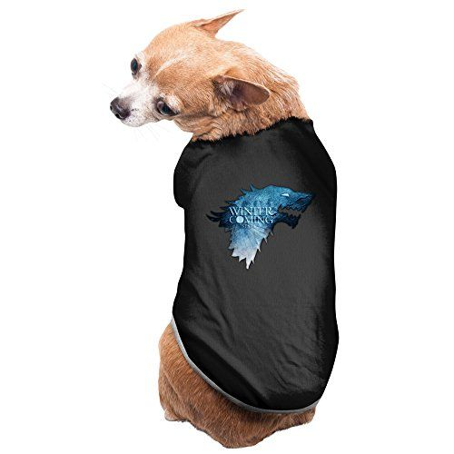 Game-Of-Thrones Pet Dog Hoodies Custom Cheap Dog Clothes