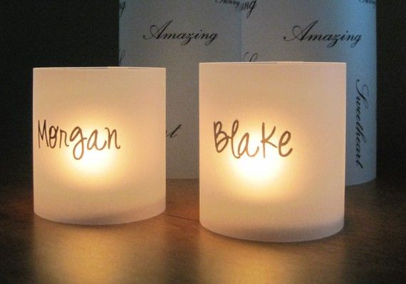 Place Cards - Luminaries - Unique, Fun and Romantic on Etsy, $2.00