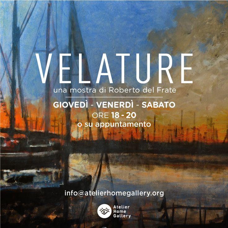 La mostra VELATURE continua fino a fine novembre, ma con nuovi orari ;) #artnews #Trieste #atelierhomegallery