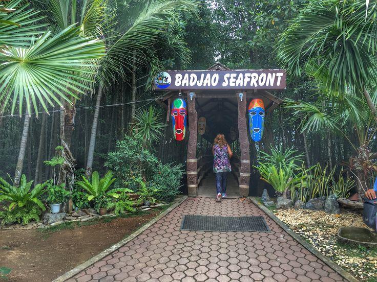 Badjao Seafront Restaurant Entrace