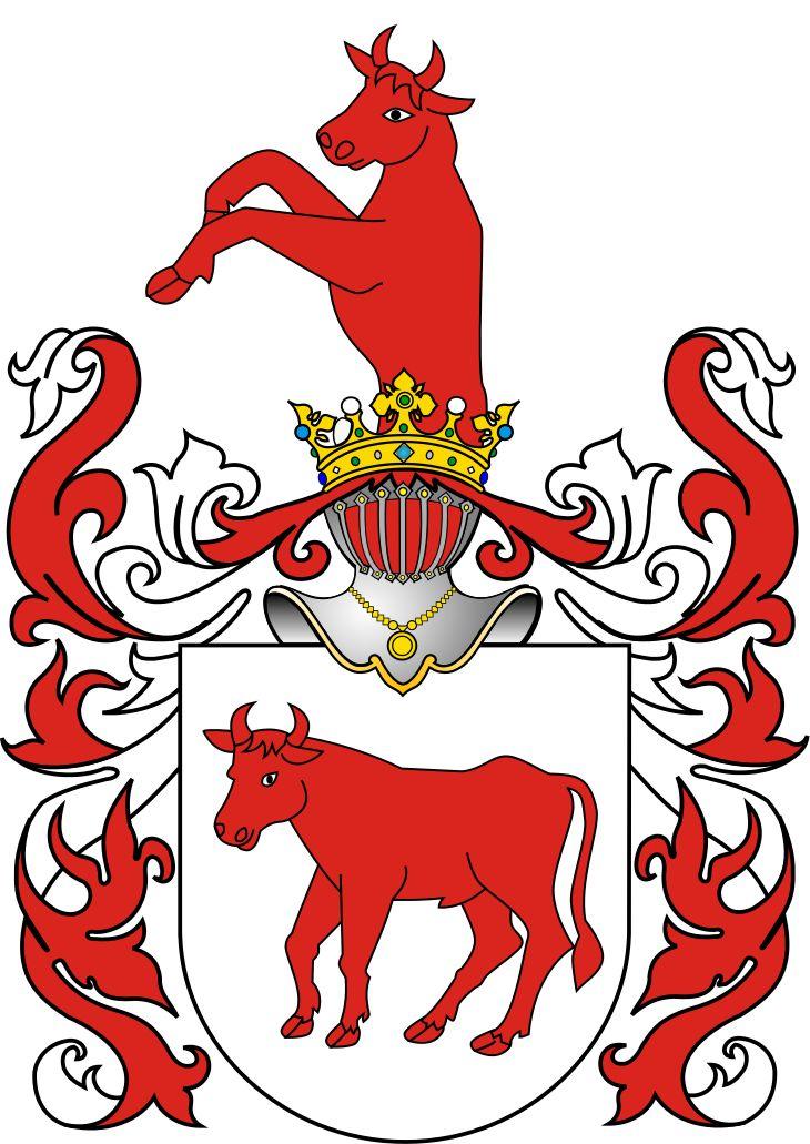 Herb Ciołek - Herby szlachty polskiej (galeria) – Wikipedia, wolna encyklopedia