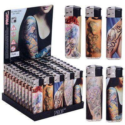 Aansteker tatoeage Tattoo