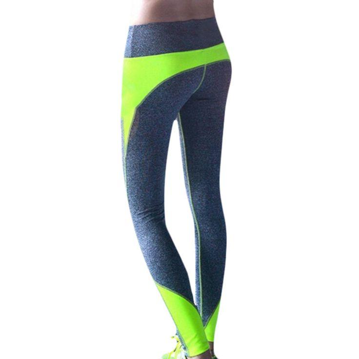Yogaレギンススポーツパンツ用女性女性ハイウエストジム痩身クイックドライルルワークアウトスポーツフィットネススリムランニング服