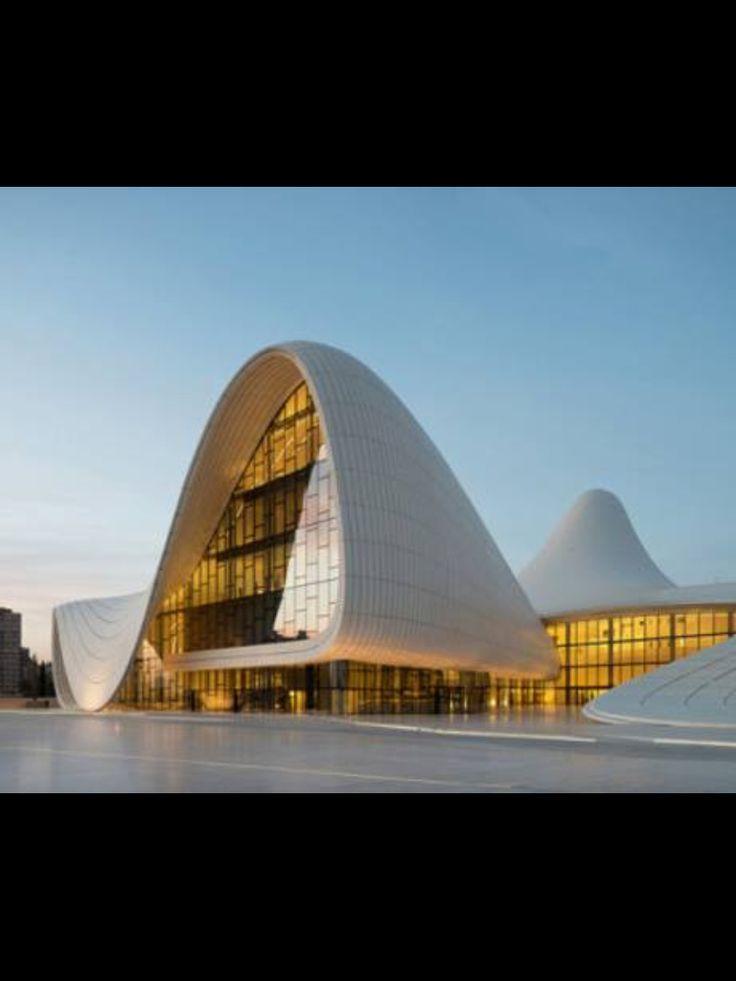 Zaha Hadid Receives Design Of Year Award From The London Design Museum For Heydar  Aliyev Center In Baku