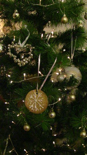 Edible Christmas tree decorations. Check out the recipe on our blog
