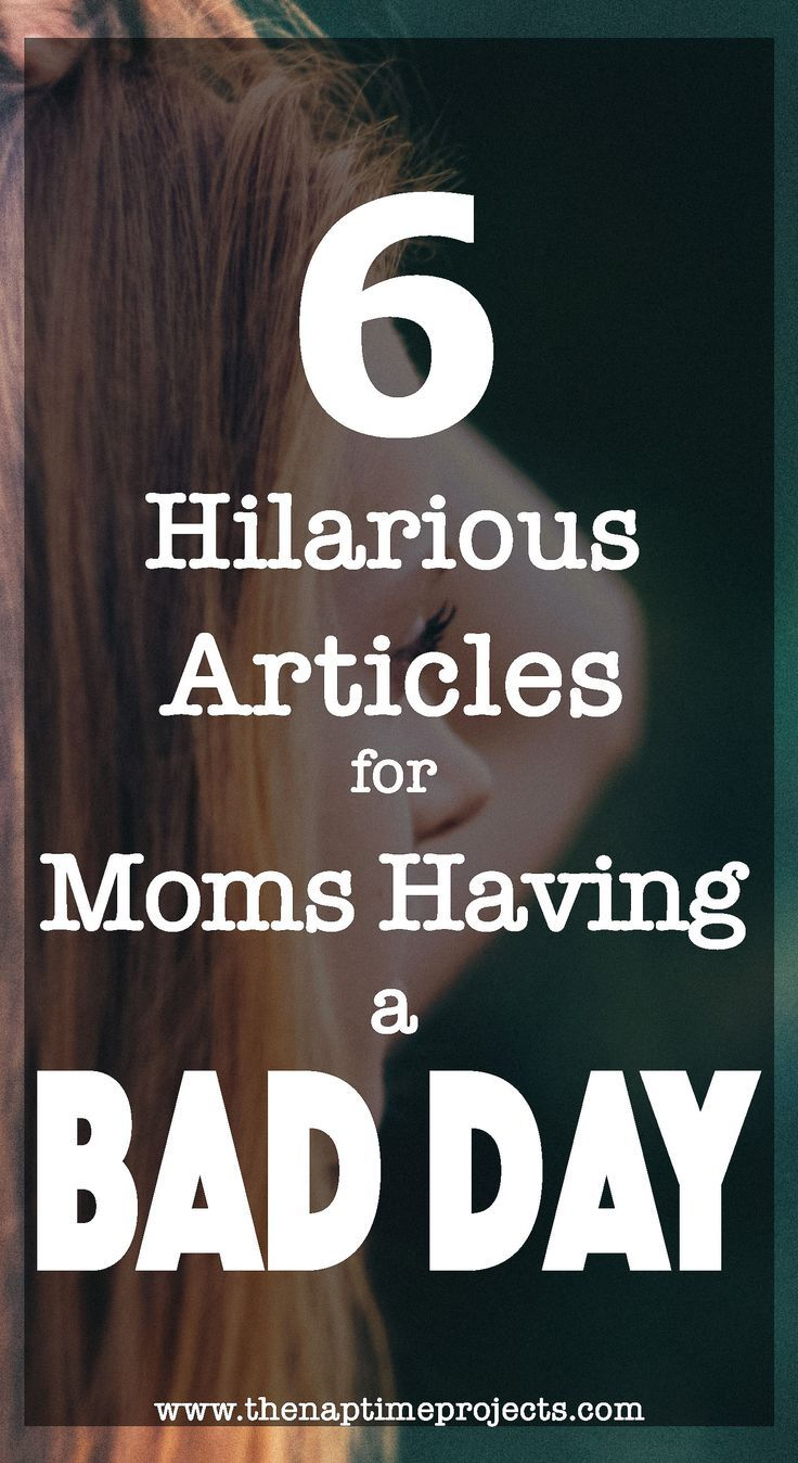 Every mom has those days that are just bad. The toddler is throwing tantrums left and right, the teenager gives you sass on sass on sass, and the baby is teething again. On these days, you better laugh or else you just might cry. Lock yourself away in the bathroom for five minutes of alone time and enjoy these six articles that are sure to make you laugh!