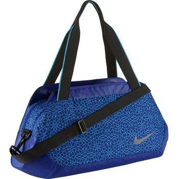 Image of Nike Legend Club Print Women's Training Duffel Bag - Deep Royal Blue/Omega Blue/Black BA5235-455