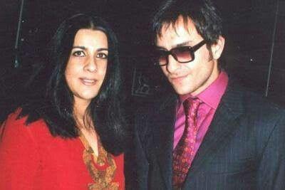 Amrita Singh e Saif Ali Khan