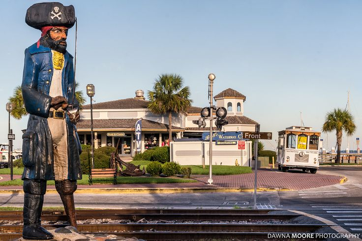 Peg Leg Pete on Front and Centre Fernandina Beach Florida