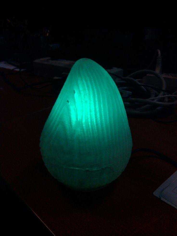 My #3DPrinting lamp reaction diffusion