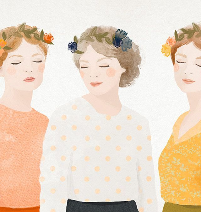 """Mateja Kovač is a Croatian artist and illustrator. As she describes, """"my art has taken me from restoration, classical painting, interior design and finally today, to the place i can call my home…illustration. #Arts Design"""