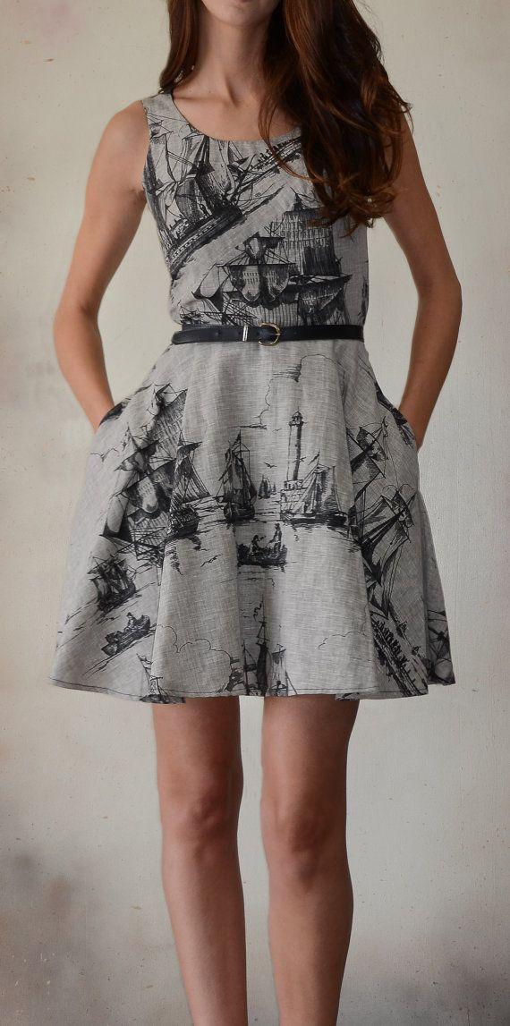 Starboard Dress by EveAndEnoch on Etsy, $179.00