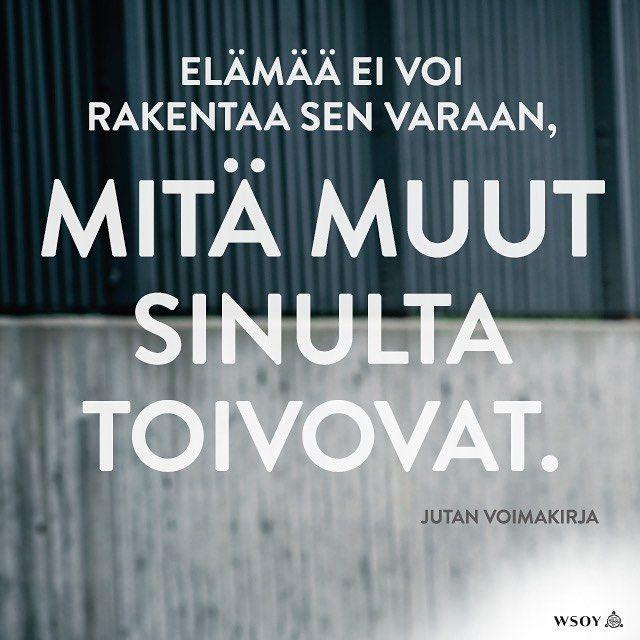 Oletko samaa mieltä? #jutanvoimakirja #omaelämä #omatvalinnat #vapaus  #juttagustafsberg #kirja #uutuuskirja