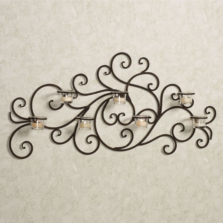 124 best BEDROOM DECOR images on Pinterest   Bedroom decor, Metal ... - wrought iron wall designs