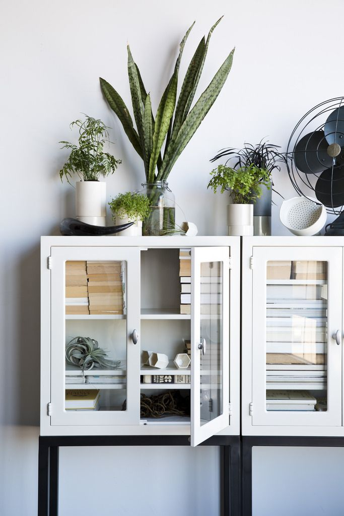 One very stylish display cabinet.