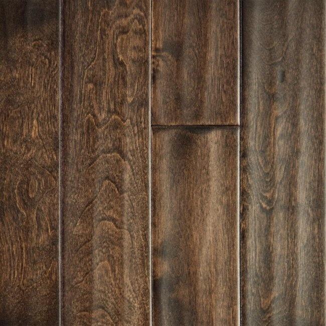 Virginia Mill Works 5/8 x 31/4 Cocoa Birch Handscraped