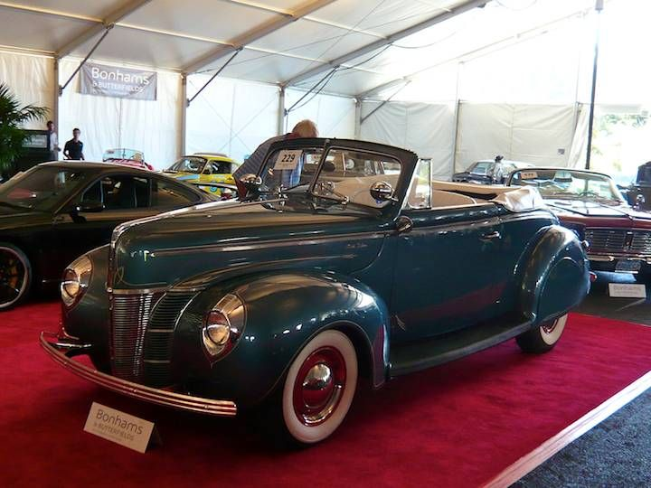 1940 Ford 11A Super Deluxe Convertible Coupe