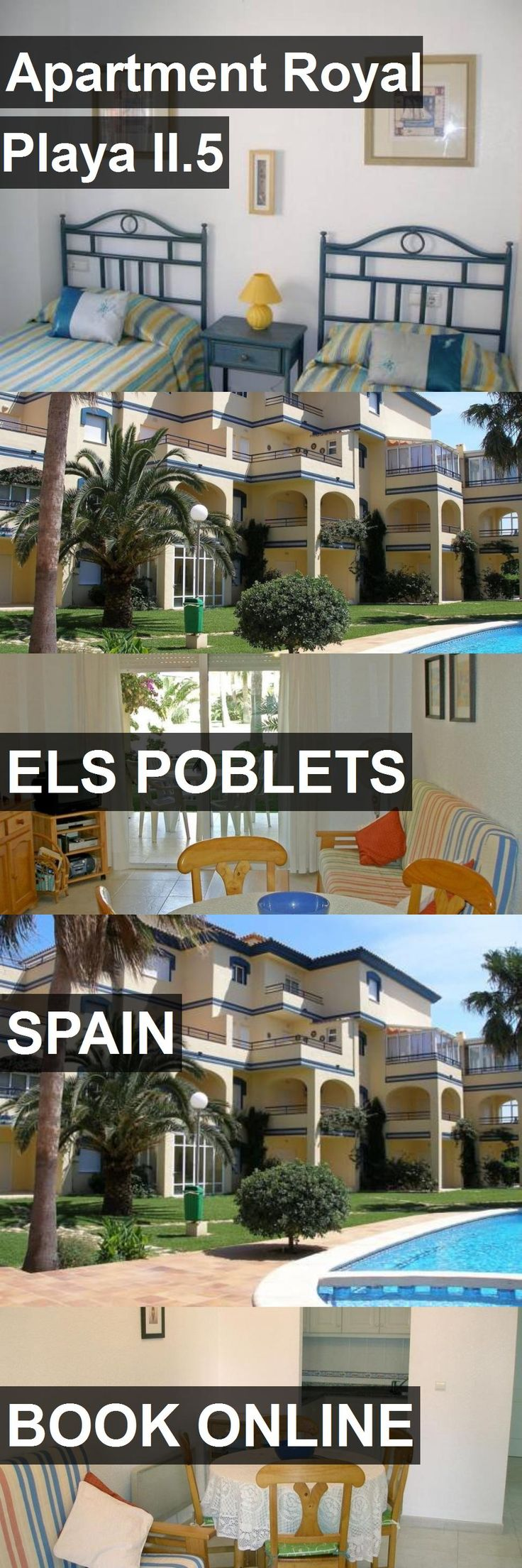 Hotel Apartment Royal Playa II.5 in Els Poblets, Spain. For more information, photos, reviews and best prices please follow the link. #Spain #ElsPoblets #ApartmentRoyalPlayaII.5 #hotel #travel #vacation