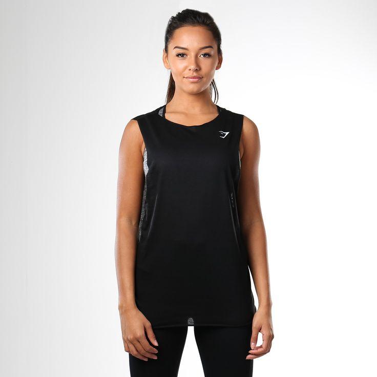 Gymshark Empower Gym Vest - Black