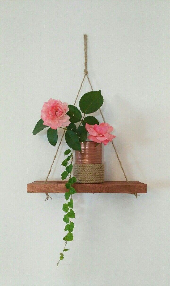 Trasformare un piccola altalena in mensolina ... facile DIY !!!!