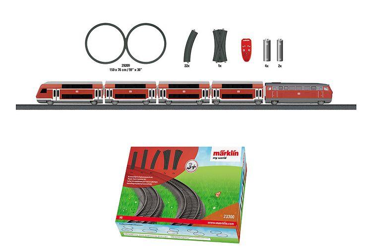 Märklin Eisenbahn Starterset, »Märklin My World - Starterset Regional Express & Gleis-Ergänzung«