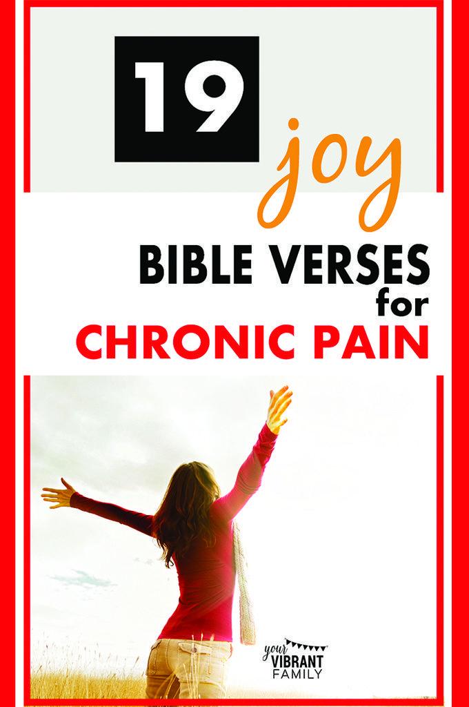19 Bible Verses for Chronic Illness Sufferers - Vibrant ...