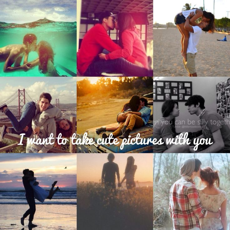 Cute pictures with your boyfriend/girlfriend