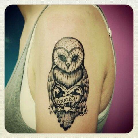 #gufo #tattoo