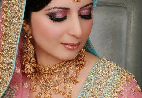 New south Asian bridal makeup for 2016 ideas from different makeup artist of Pakistan and India. S...